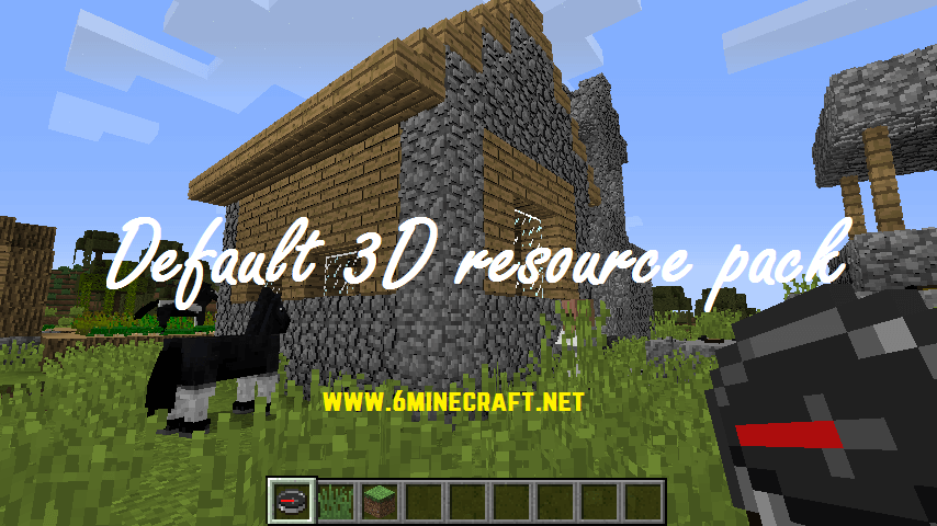 Default 3D Resource Pack 1.16.5