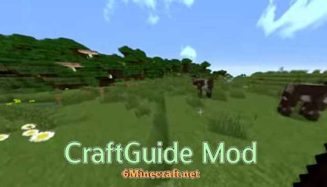 Craft Guide 1 14 4/1 13 2/1 12 2/1 11 2/1 10 2 Mod for Minecraft