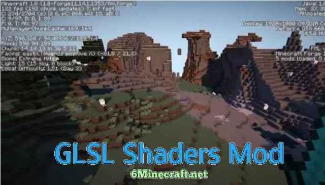GLSL Shaders Mod 1.9.4