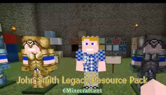 John Smith Legacy Resource Pack 1.9.4