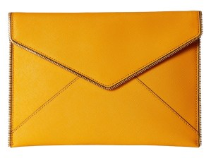 Rebecca Minkoff - Leo Clutch (Saffron) Clutch Handbags