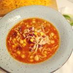 mexicansk taco suppe med kylling og kikærter | 6pm.dk
