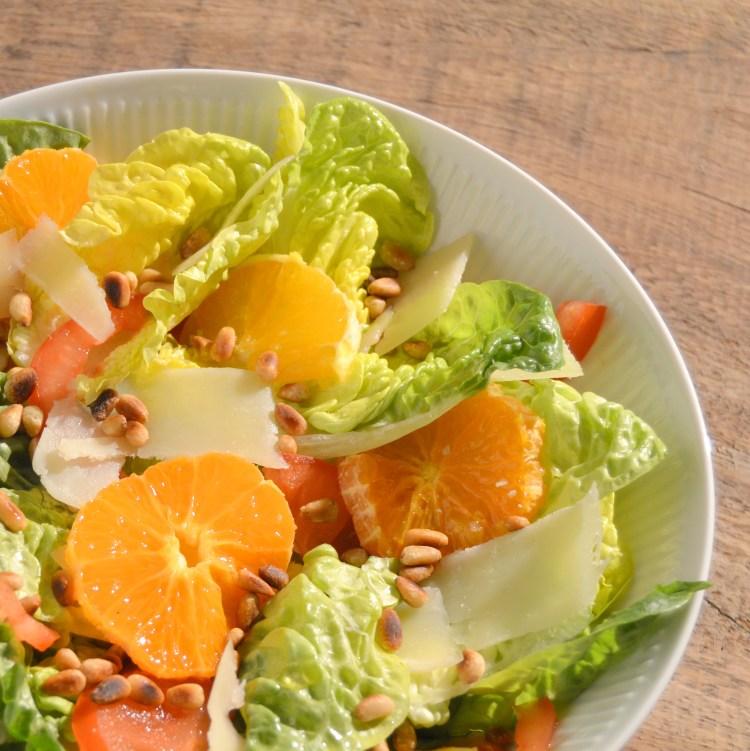 Salat med mandariner   6pm.dk