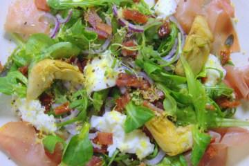 Salat med grillede artiskokker | 6pm.dk
