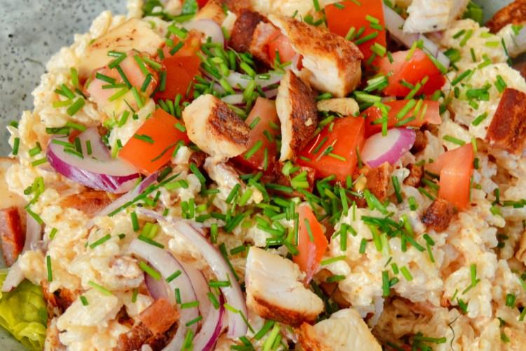 Rissalat med kylling og bacon | 6pm.dk