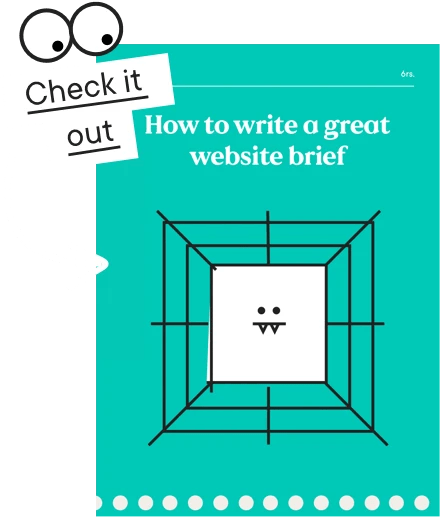 Write a great website brief resource cover image