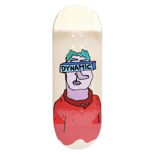 Dynamic Fingerboard Vision Red 32mm wide