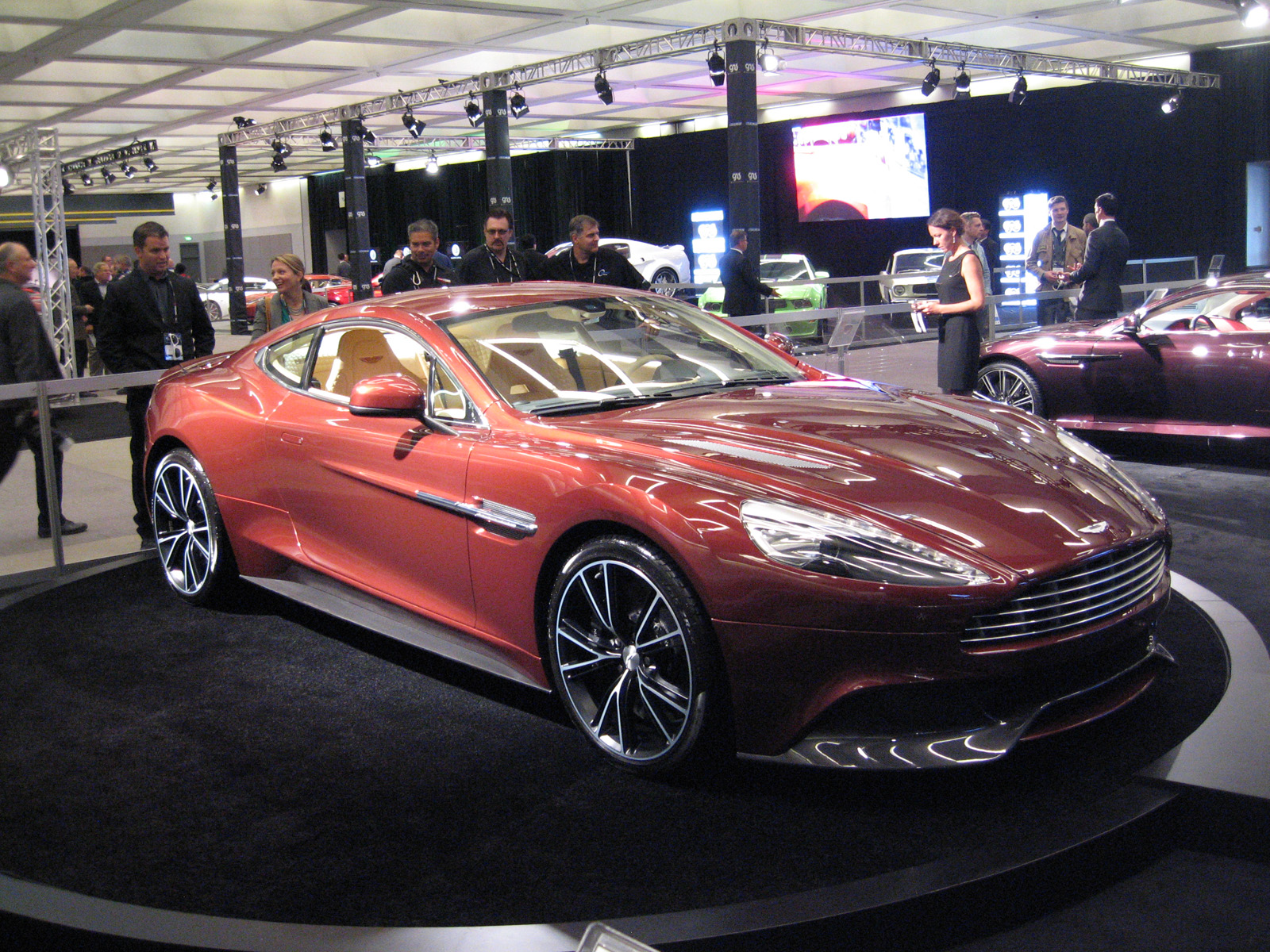 Aston Martins Vanquish At The LA Auto Show SpeedOnline - When is the la car show