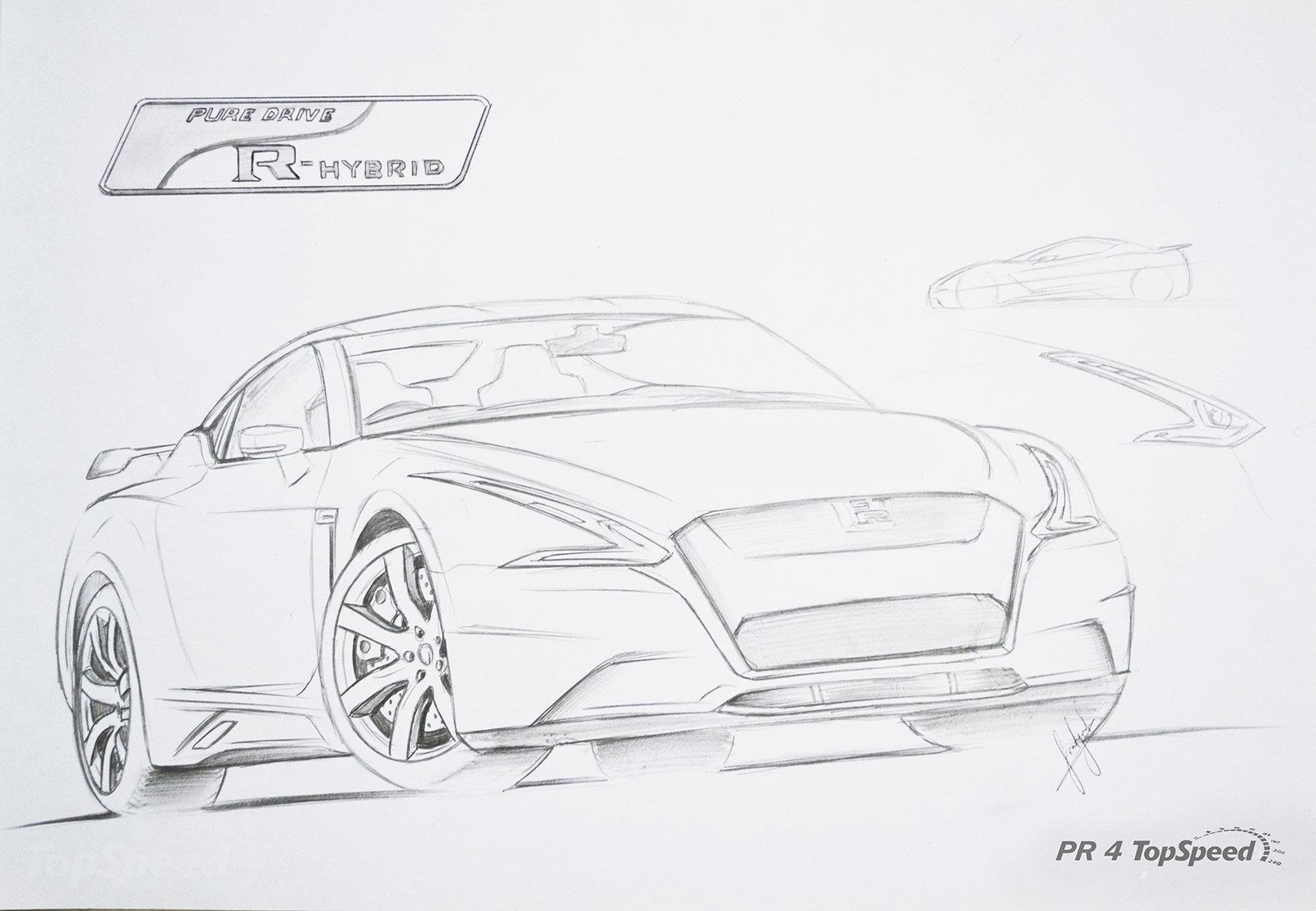 Nissan Gt R 13 X0w
