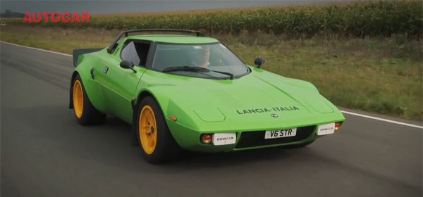 The Lancia Stratos is Back ... in the Form of a Kit Car ...