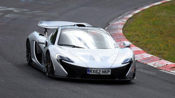 mclaren teases p1 nürburgring run with sweet video - 6speedonline
