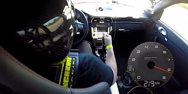 911 record setting run porsche