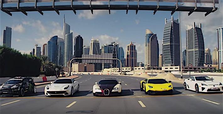 Block Racing Bugatti