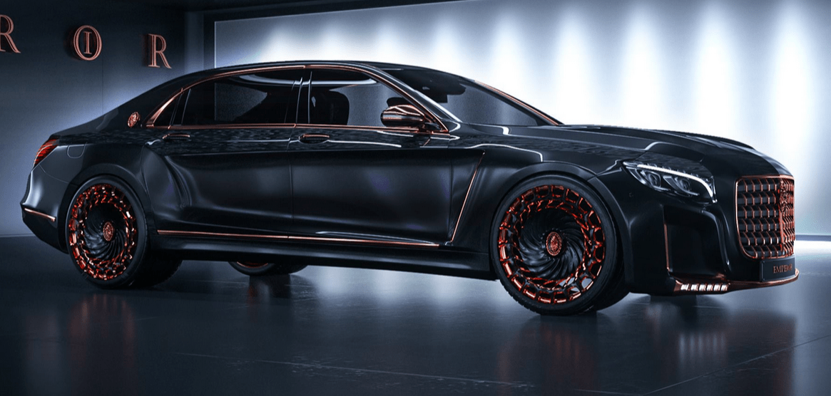 Canadian Company Makes the Mercedes-Maybach S600 Look...Interesting ...