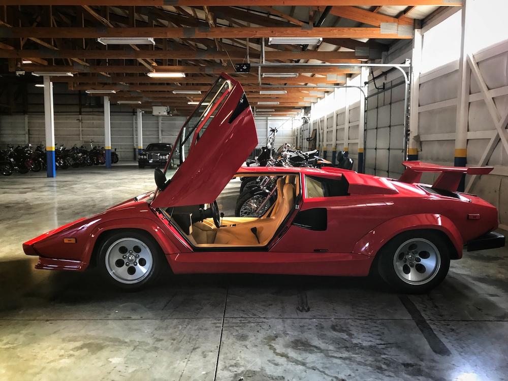 1987 Lamborghini Countach 500 Jerry Perez 5 6speedonline