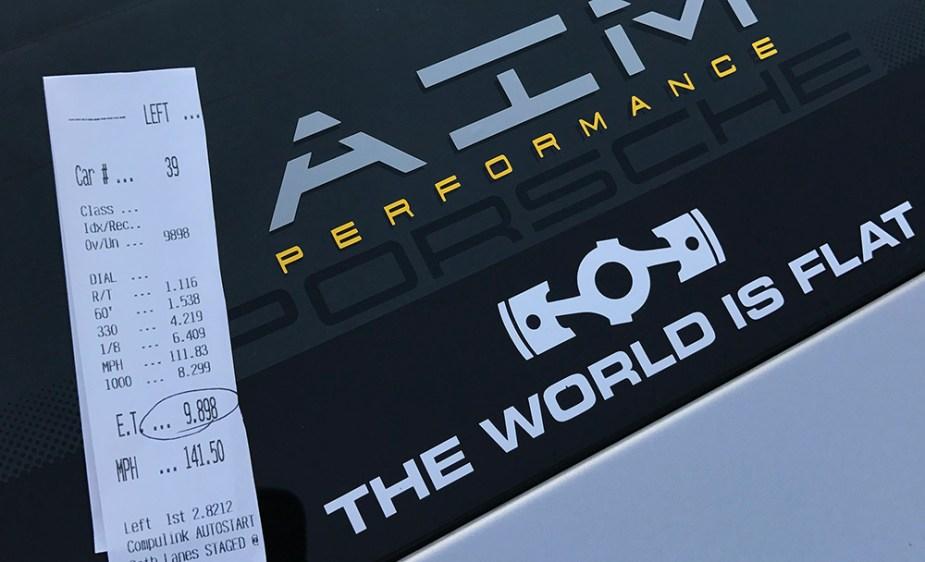 6speedonline.com 997 Porsche 911 Turbo S 9-second 1/4 mile pass