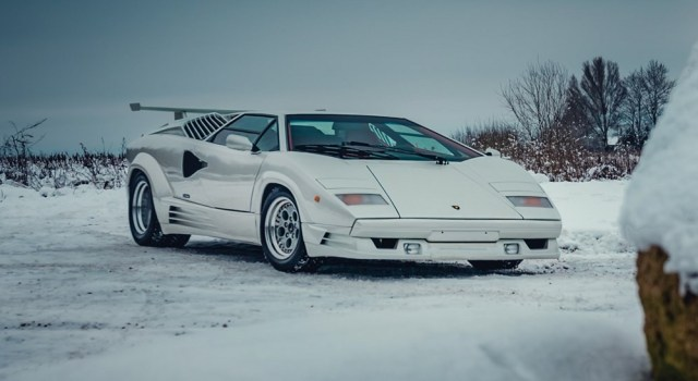 6SpeedOnline.com Lmaborghini Countach 25th Anniversary Edition Auction RM Sotheby's