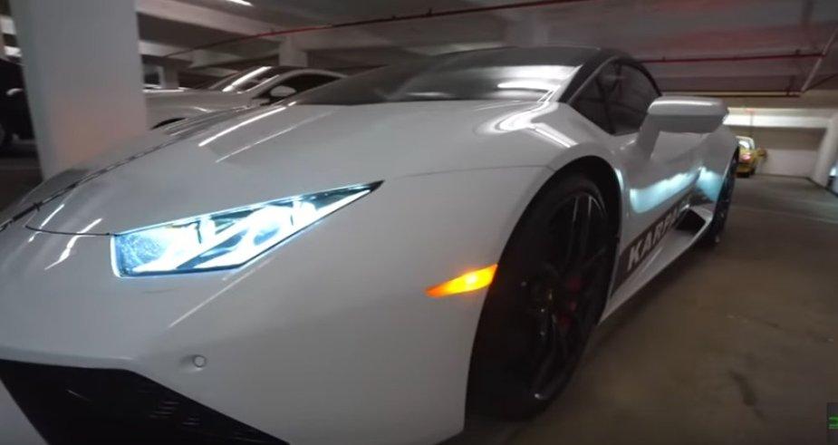 Borrowed Lamborghini Huracan