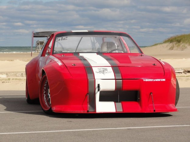 Porsche 944 Race Car Beauty Shot