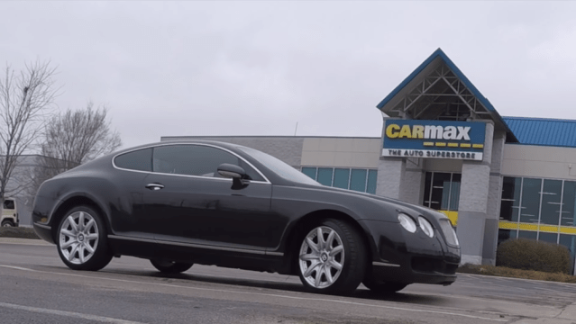 6SpeedOnline.com Bentley Continental GT Takes Journey to CARMAX, Barely