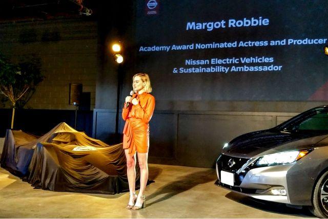 6SpeedOnline.com Nissan FIA Formula E Leaf Margot Robbie