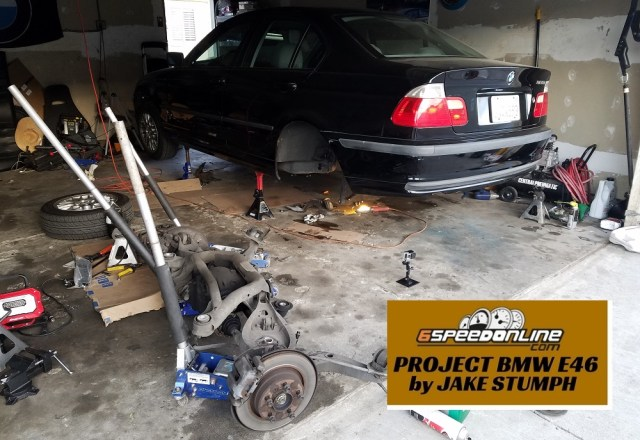 6SpeedOnline.com Project BMW E46 Drift Car Chassis Subframe Reinforcement DIY