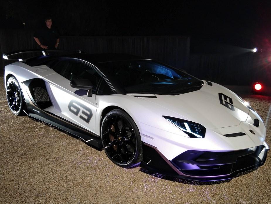 Lamborghini Aventador Svj 63 Debuts At Pebble Beach 6speedonline