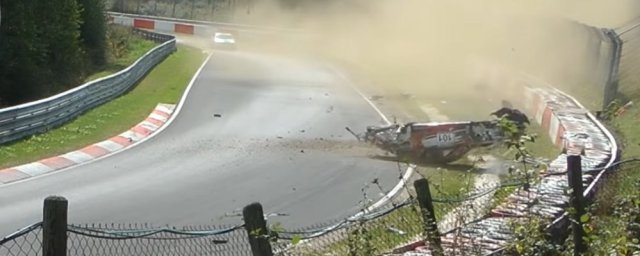 End of Porsche 911 Crash