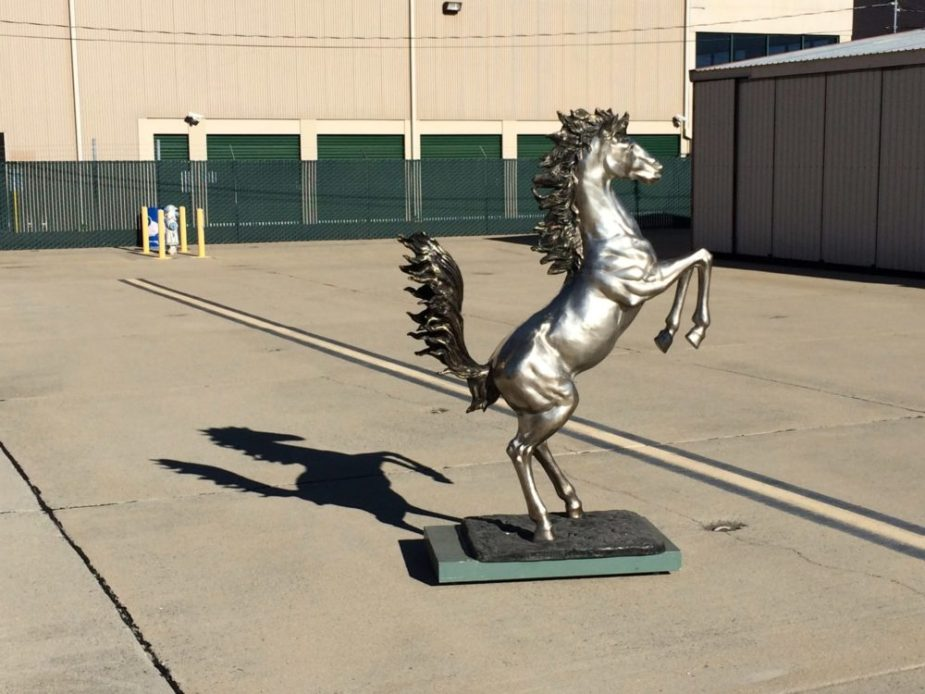 Ferrari Prancing Horse Statue