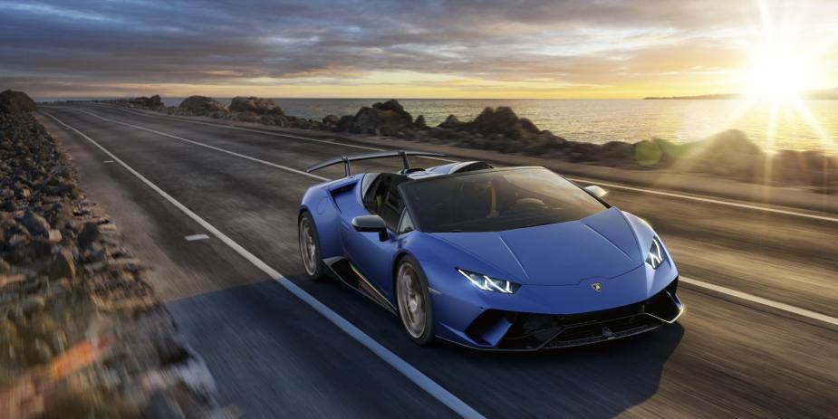 Lamborghini Sales Strong in 2018