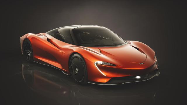 McLaren Speedtail Design Inspirations