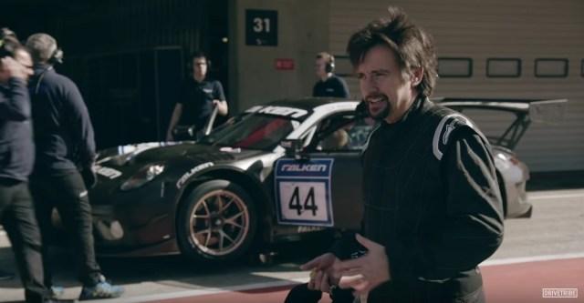 Richard Hammond Drives Porsche GT3 R at Portimao Circuit