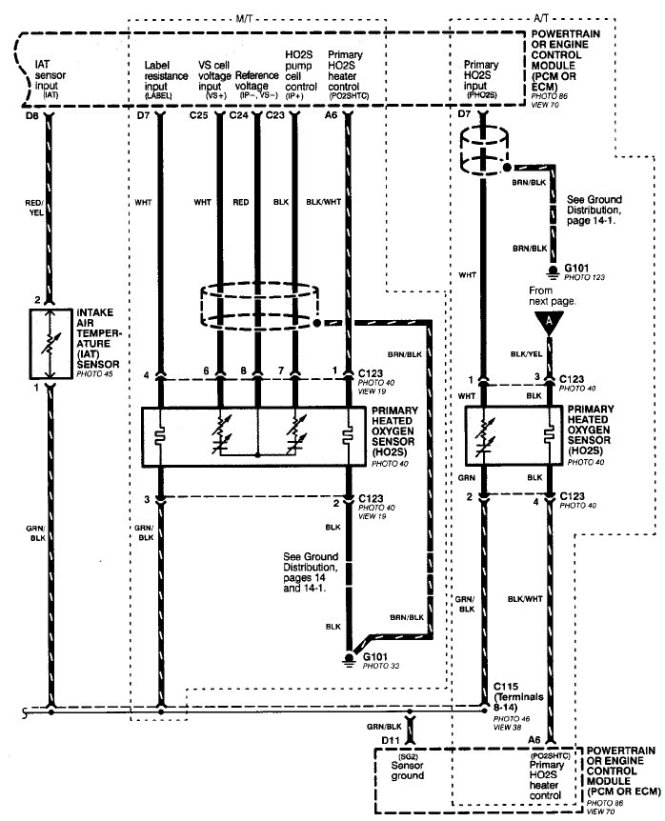 wiring diagram for a 2001 honda civic wiring image 2001 honda civic o2 sensor wiring diagram jodebal com on wiring diagram for a 2001 honda