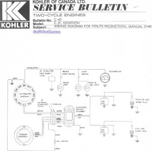 6x6 World  Kohler Engine Owners Manuals