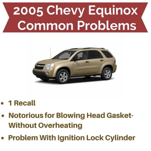 2005 Chevrolet Equinox Problems