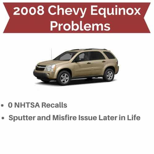 2008 Equinox Problems And Recalls