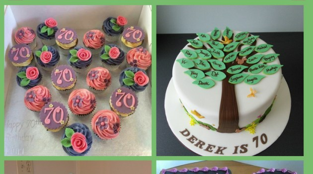 70th Birthday Cakes Archives