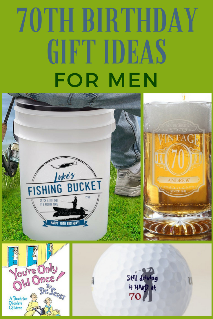 70th Birthday Gift Ideas For Men Unique 70th Birthday Gifts He Ll Love