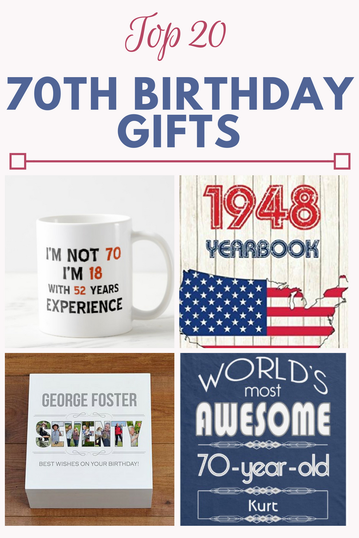 70th Birthday Gifts Gift Shop 20 In 2019 T