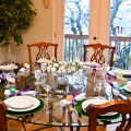Easter Table Setting-Use What You Have and Add