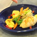 Tilapia & Crab Roulade with Long Grain & Wild Rice with Carrots and Squash – $10 or Less Meal