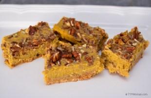 Easy Pumpkin Cheesecake Bars