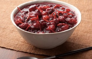 4 Ingredient Super Easy (What I Make EVERY Year) Cranberry Relish