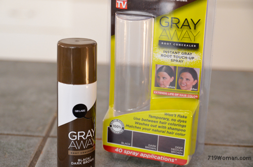 As Seen On TV....GRAY AWAY Root Concealer....Did It Work ...