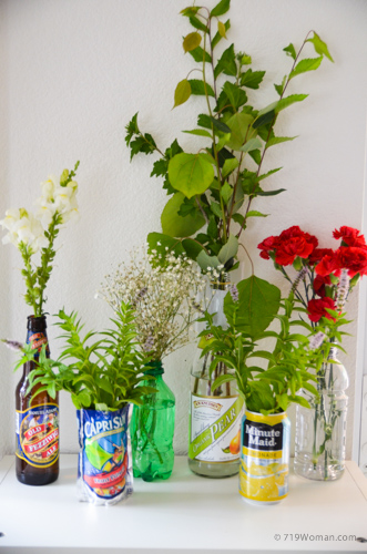 Think Outside The Vase Cheap Or Free Flower Containers
