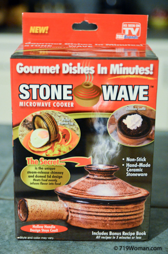 As Seen On Tv Stone Wave Microwave Cooker Does It Really Work 719woman Com