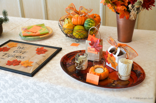 More easy and inexpensive thanksgiving fall decor you