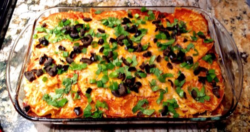 Chicken Enchilada Casserole - (Gluten-Free, Easy & $2.25 Per Person) - 719woman.com