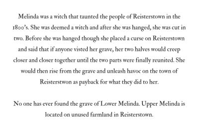 Upper Melinda Witch B