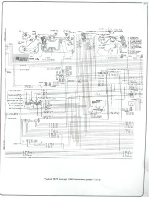 Under hood Wiring Schematic for 1978 Cheny Blazer | Chevy